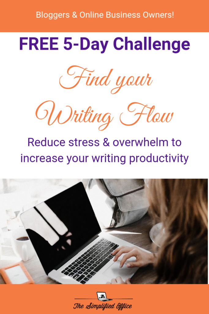 FREE 5-Day Challenge_ Find your Writing Flow