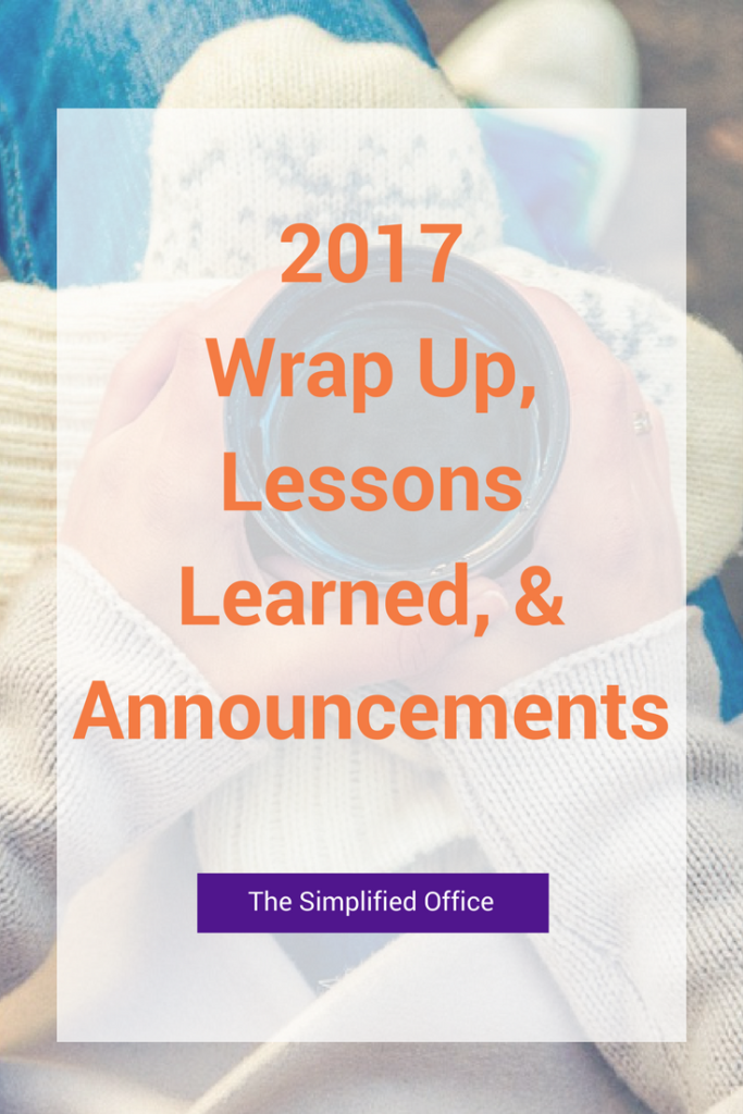 The Simplified Office.com 2017 Lessons Learned& Announcements for 2018