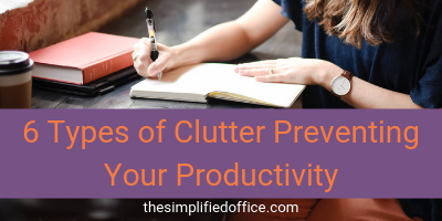 6 Types of Home Office Clutter that's Preventing Your Productivity